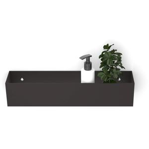 Looox Colour Shelf BoX 30 cm Antraciet