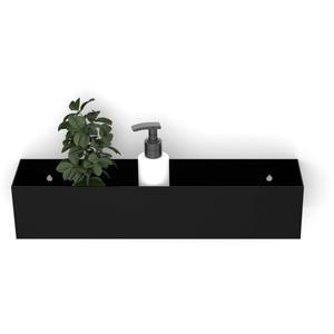 Looox Colour Shelf BoX 30 cm Mat Zwart
