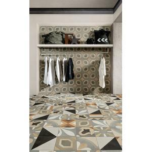 Vloertegel Fioranese Cementine Boho 20x20 cm deco 6, 1,08M2