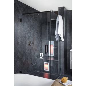 Vloertegel Castelvetro Absolute 35x40x1 cm Zwart 0,55M2