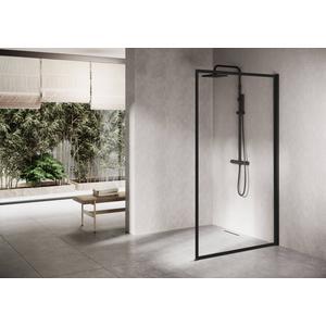 Ben Delphi Inloopdouche met Helder Glas 80x200 cm Mat Zwart