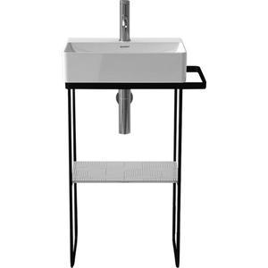 Duravit Durasquare Metalen onderstel wandmontage 51,6x33,3 cm Mat zwart