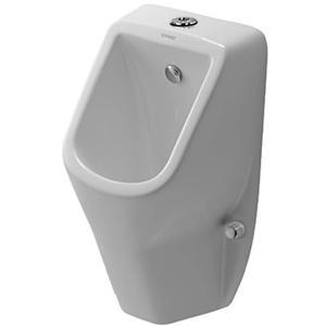 Duravit D-Code urinoir toevoer boven / met sifon en bevestiging Wit