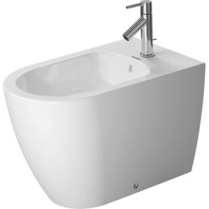 Duravit ME by Starck Staand bidet Back-to-Wall WonderGliss Wit