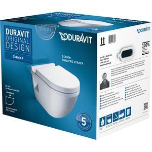 Duravit Starck 3 combipack toiletset met softclose zitting