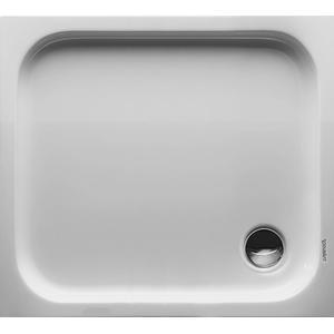 Duravit D-Code Douchebak rechthoek 90x80cm met antislip Wit