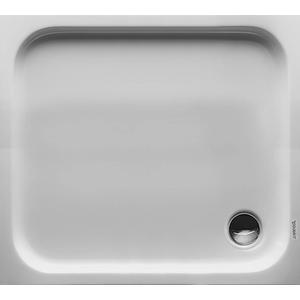 Duravit D-Code Douchebak rechthoek 100x90cm met antislip Wit