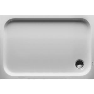 Duravit D-Code Douchebak rechthoek 120x80cm met antislip Wit