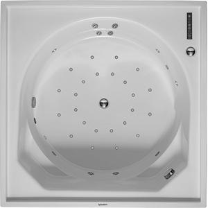 Duravit Blue Moon Systeembad 150 liter Acryl 140x140 cm Wit