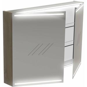 Thebalux Deluxe Spiegelkast 70x100x13,5 cm Bardolino Eiken