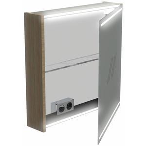 Thebalux Basic Wastafelbovenkast 60x13,5x60 cm Wit Acryl hoogglans