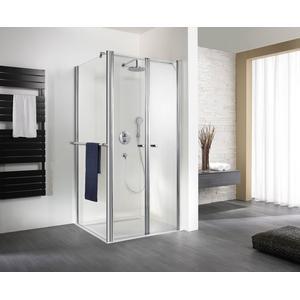 HSK Exklusiv Pendeldeur voor (verkorte) zijwand 100x200 cm Alu zilver mat / Helder Glas