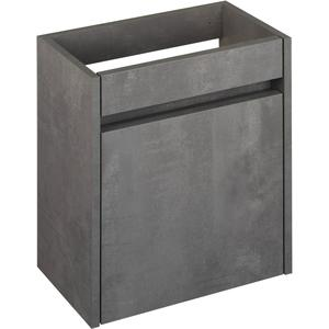 Saqu Selda Fonteinonderkast 40x21,8x50 cm Beton Grijs