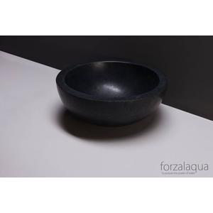 Forzalaqua Roma Opzetkom Ø40x15 cm Graniet Gezoet