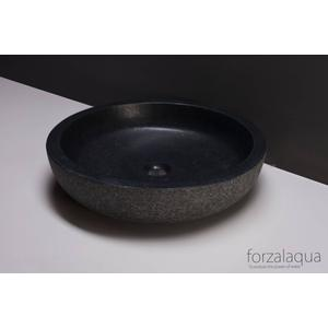 Forzalaqua Verona XL wastafel 50x12 cm Graniet gezoet