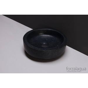 Forzalaqua Verona Opzetkom Ø30x10 cm Graniet Gezoet