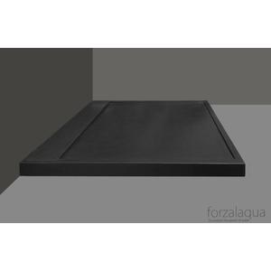 Forzalaqua Fresco Douchebak 90x90x5 cm Graniet Gezoet