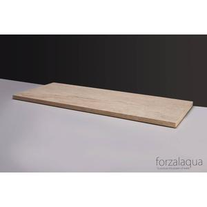 Forzalaqua Plateau 140,5x51,5x3 cm Travertin gezoet