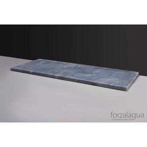 Forzalaqua Plateau 160,5x51,5x3 cm Cloudy marmer gezoet