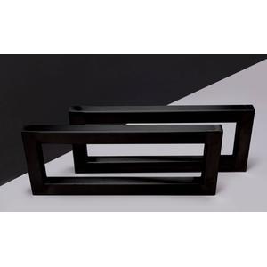 Forzalaqua Beugelset 39,5x16x3 cm Mat Zwart