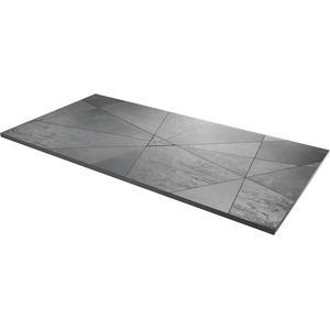 Acquabella Smart Fusion Douchevloer 90x140x3 cm Cemento