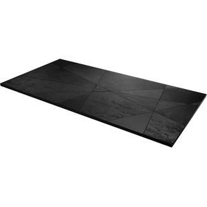 Acquabella Smart Fusion Douchevloer 90x120x3 cm Negro