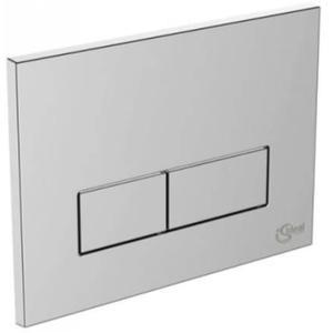 Ideal Standard bedieningspaneel 2-knops chroom