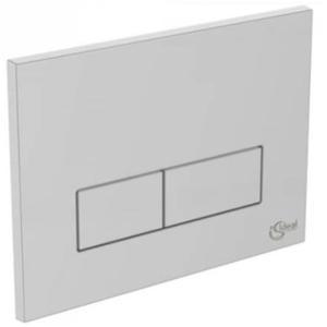 Ideal Standard bedieningspaneel 2-knops mat chroom