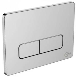 Ideal Standard bedieningspaneel 2-knops softedge chroom