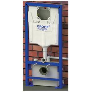 Sanibroyeur Saniwall Pro inbouw wc element met faecalienvernietiger