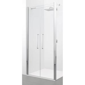 Novellini Young 2.0 2-delige Draaideur 87x200 cm Matchroom Helder Glas