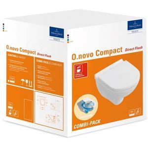 Villeroy & Boch O.Novo Closet Directflush en Softclose Wit Alpin Ceramic Plus