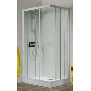 Kinedo Kineprime glass douchecabine met schuifdeur 90x208 en thermostaat