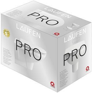 Laufen Pro pack Wandcloset Rimless met Slimseat Zitting Wit
