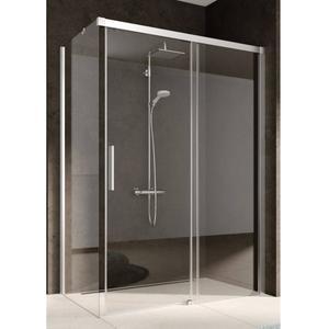 Kermi Nica Douchedeur Rechts 150x200 cm Zilver Glans/Helder Glas