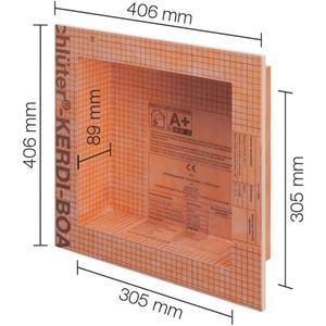 Schluter Kerdi-Board-N Inbouwnis 30,5x30,5 cm