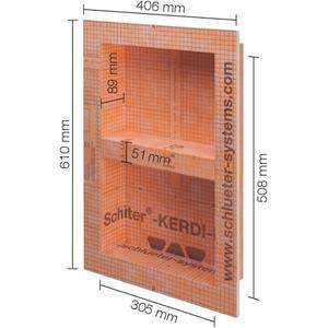 Schluter Kerdi-Board-N Inbouwnis 30,5x50,8 cm