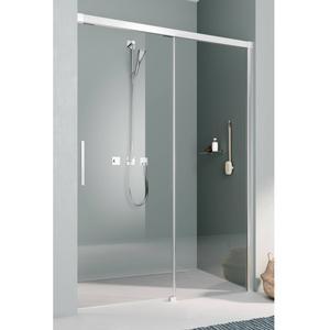 Kermi Nica Douchedeur Rechts 110x200 cm Zilver Glans/Helder Glas