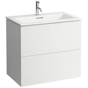 Laufen Kartell by Laufen meubelset 80x50 cm 1 kraangat Slate grey