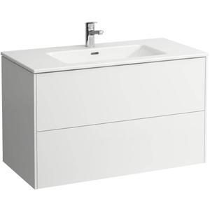 Laufen Pro S meubelset 100x61 cm 1 kraangat Mat Wit