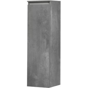 Saqu Gaia Midi kast 35x34x120 cm Beton Grijs