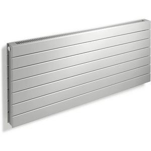 Vasco Viola Horizontaal H2L1-RO radiator as=0018 43x100cm 1100W Platina Grijs