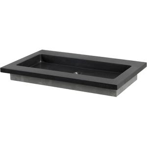 Ben Naturno wastafel Graniet 80,5x51x3cm zonder kraangat