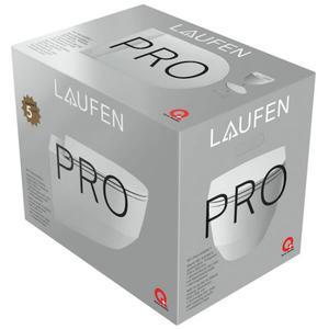Laufen Pro pack Wandcloset Rimless met Slimseat zitting met Easyfit Wit