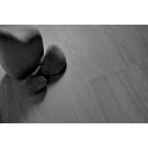 Vloertegel Coem Pietra Valmalenco 60x60x- cm Antracite 1,44M2