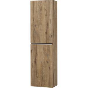 Ben Limara Hoge kast Links, 45x29x165 cm, Sherwood/Aluminium