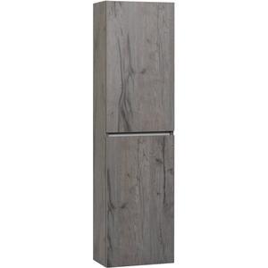 Ben Limara Hoge kast Rechts, 45x29x165 cm, Cape Elm/Aluminium