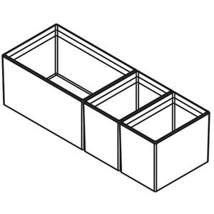 TA'OR CubiMax 450 zwart 3 cubics