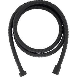 Ben Doucheslang metaal 125 cm Gestructureerd Zwart