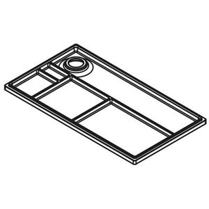 TA'OR CubiMax 272 Deksel wit/parelgrijs